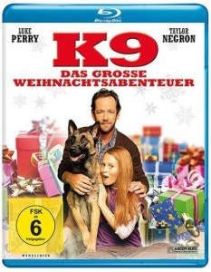 Cover Review Film K9 Das große Weihnachtsabenteuer Blu-ray