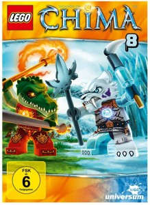 Cover Review Lego Legends of Chima - DVD 8
