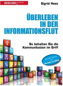 Cover Rezension Überleben in der Informationsflut Sigrid Hess