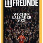 Cover Rezension 11 Freunde Wochenkalender 2021