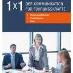 Cover Rezension 1x1 der Kommunikation für Führungskräfte Wiley Stefan Bartel