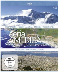 Cover Rezension Aerial America - Amerika von oben Westcoast Pacific Collection Blu-ray