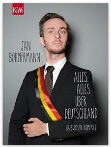 Cover Rezension Alles, alles über Deutschland Jan Böhmermann