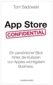 Cover Rezension App Store Confidential Tom Sadowski