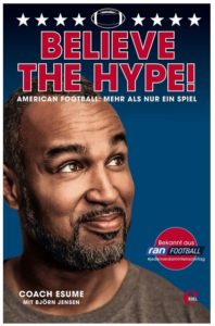 Cover Rezension Believe the Hype! American Football Patrick Esume