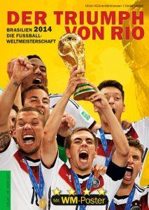 Cover Rezension Brasilien 2014 Die Fußball-Weltmeisterschaft Verlag Die Werkstatt