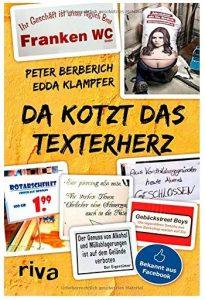 Cover Rezension Da kotzt das Texterherz Peter Berberich Edda Klampfer riva Verlag