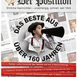 Cover Rezension Der Postillon Das Beste aus über 160 Jahren