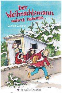 Cover Rezension Der Weihnachtsmann wohnt nebenan Daniela Dammer