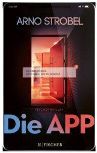 Cover Rezension Die App Arno Strobel