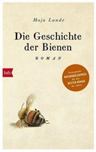 Cover Rezension Die Geschichte der Bienen Maja Lunde
