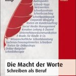 Cover Rezension Die Macht der Worte Schreiben als Beruf Susanne Diehm Michael Firnkes