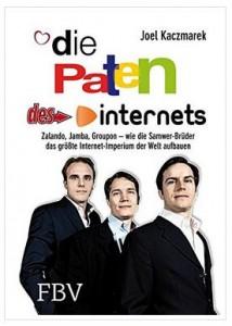 Cover Rezension Die Paten des Internets FBV Joel Kaczmarek