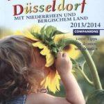 Cover Rezension Familien-Freizeitguide Kind in Düsseldorf Ausgabe 2013 2014 Companions Verlag Hamburg