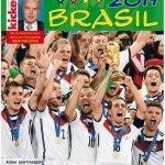 Cover Rezension Fußball-Weltmeisterschaft Brasil 2014 Copress Sport
