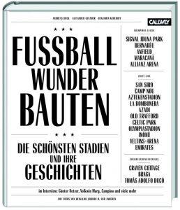 Cover Rezension Fussball Wunder Bauten Callwey Verlag