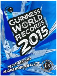 Cover Rezension Guinness World Records 2015 Hoffmann und Campe