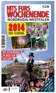 Cover Rezension Hits fürs Wochenende Nordrhein-Westfalen 2014