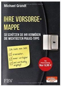 Cover Rezension Ihre Vorsorgemappe Michael Grandt