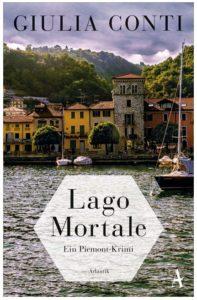 Cover Rezension Lago Mortale Ein Piemont-Krimi Giulia Conti