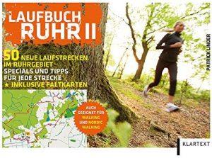 Cover Rezension Laufbuch Ruhr II  50 neue Laufstrecken im Ruhrgebiet Patrick Linder