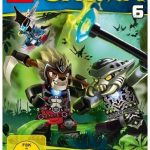 Cover Rezension Lego Legends of Chima - DVD 6 Amazon