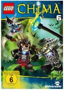 Cover Rezension Lego Legends of Chima - DVD 6 Amazon