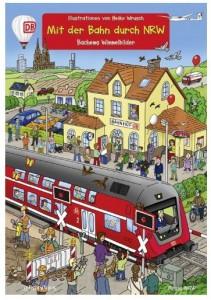 Cover Rezension Mit der Bahn durch NRW Bachems Wimmelbilder Heiko Wrusch