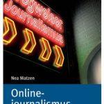 Cover Rezension Onlinejournalismus UVK Nea Matzen