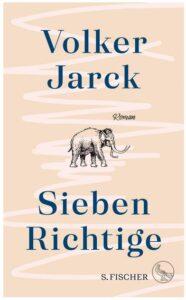 Cover Rezension Sieben Richtige Volker Jarck