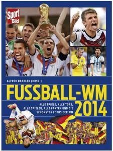 Cover Rezension SportBild Fußball-WM 2014 Alfred Draxler