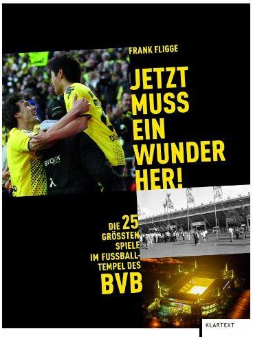 Cover Rezension Test BVB Borussia Dortmund Jetzt muss ein Wunder her Frank Fligge
