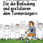 Cover Rezension Wir bedanken uns für die Einladung und gratulieren dem Turniersieger Daniel Wiechmann