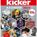 Cover Rezension kicker Kalender 2020