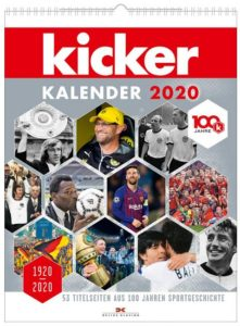 Cover Rezension kicker Kalender 2020
