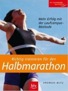 Cover Richtig trainieren für den Halbmarathon Andreas Butz