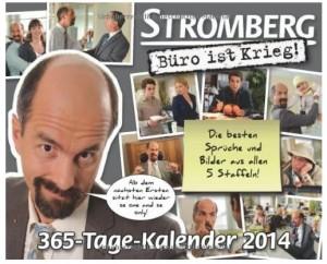 Cover Stromberg Büro ist Krieg 365 Tage Kalender 2014 Produkttest