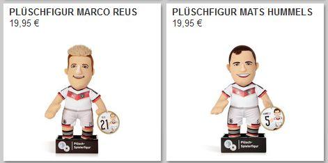 DFB Shop Plüschfigur Marco Reus Mats Hummels