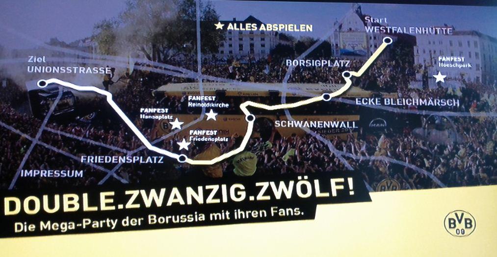 DVD Review BVB Borussia Dortmund Double-Korso.Zwanzig.Zwölf!