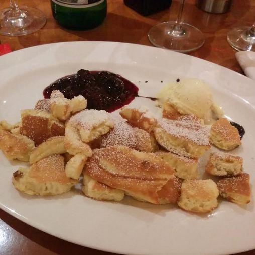 Da Capo Düsseldorf Derendorf Restaurant Dessert Kaiserschmarrn