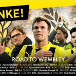 Danke für eine tolle Saison! Borussia Dortmund BVB Champions League Saison 2012 2013