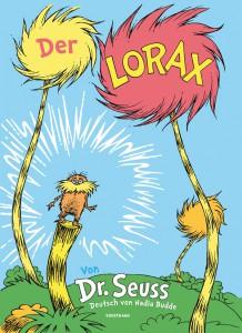 Der Lorax Dr. Seuss Cover Rezension