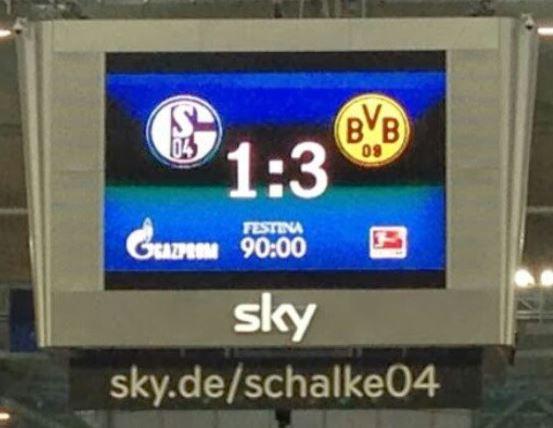 Derbysieger Schalke 04 Borussia Dortmund BVB