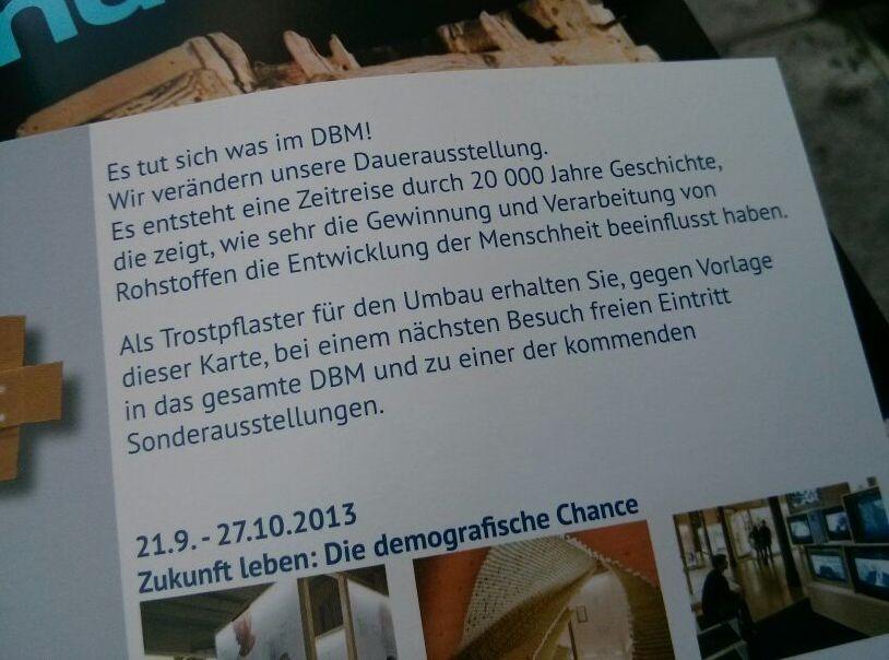 Deutsches Bergbau-Museum Bochum Rabatt Eintrittskarte