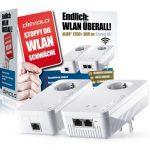 Devolo dLAN 1200+ WiFi ac Powerlan Adapter Starter Kit