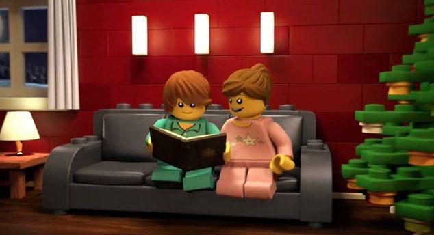 Die LEGO Weihnachtsgeschichte - YouTube Screenshot