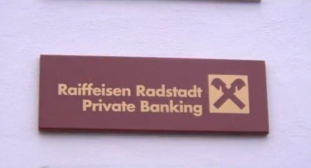 Die Raiffeisenbank Radstadt stellt sich vor... YouTube Video Screenshot