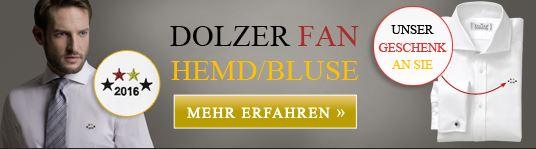 Dolzer Maßkonfektionäre Banner EM Fanstickerei