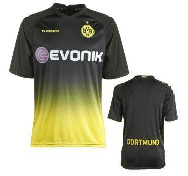 Dortmund Borussia Auswärts Trikot BVB 2011 2012 Auswärtstrikot