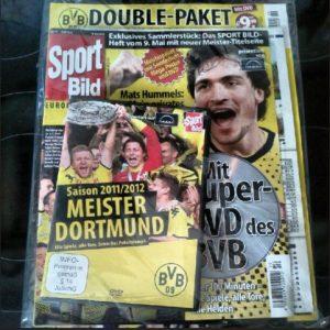 Double-Paket SportBild DVD Poster Rückblick